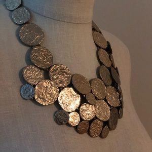 Banana Republic coin necklace